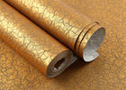 Soundproof Bronzing Modern Removable Wallpaper With Crevasse Crack Pattern