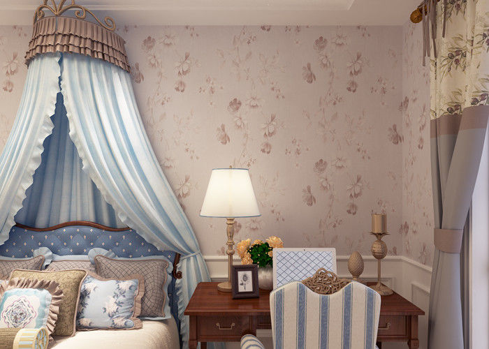 0.53*10M Eco - friendly Vinyl Stylish Wallpaper for Home Decoration , Hotel , Office