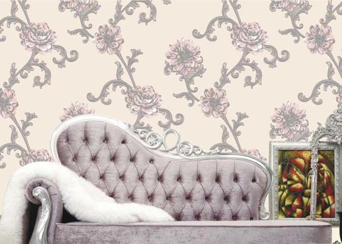 Korean Style 1.06*10m Living Room Wallpaper Soundproof for Administration , MI54917