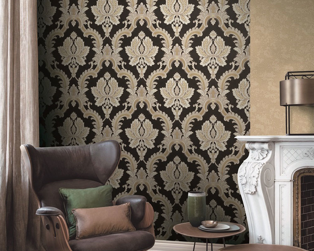 Fashion Stylish Interior Decor Wallpaper 1.06M PVC Fancy Modern Style Competitive Prices